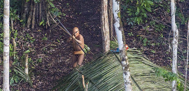 VIDEO: Ultimul supraviețuitor al unui trib izolat, văzut în Jungla Amazoniană