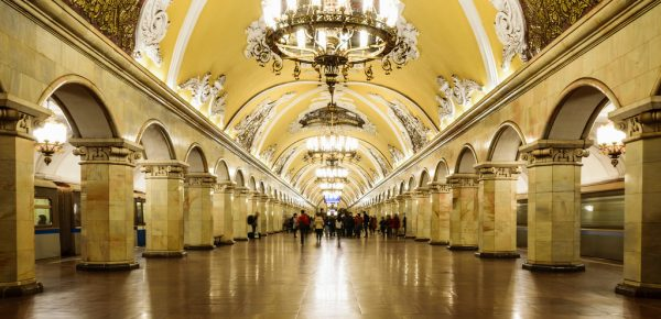 Metroul din Moscova, o adevărată operă de artă