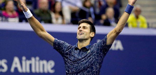 Novak Djokovic l-a egalat pe Pete Sampras la numărul de titluri de mare șlem