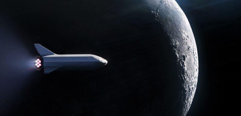 SpaceX va trimite primul turist în jurul Lunii