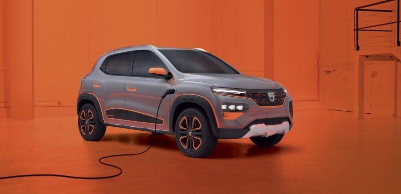 Dacia Spring: Primele imagini cu mașina 100% electrică