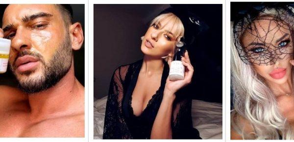 Produsele cosmetice intens promovate de vedete s-au dovedit a nu fi ceea ce par în mediul online