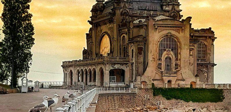 Cum arăta Cazinoul din Constanța înainte să cadă în paragină. Fotografii de colecție.