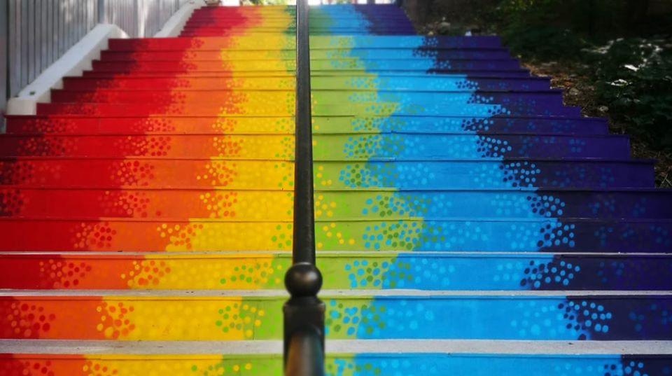 scarile fericirii - locuri instagramabile bucuresti