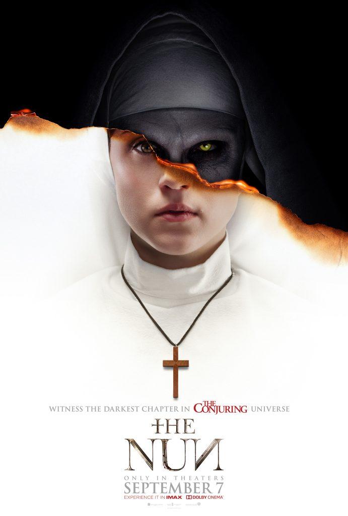The nun - platou de filmare