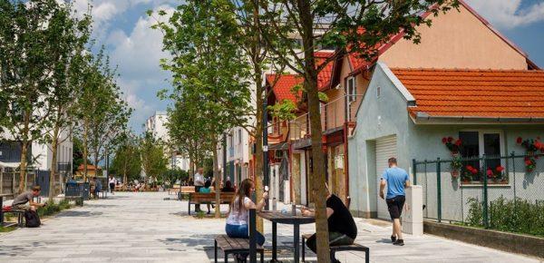 Prima stradă smart din România a fost finalizată