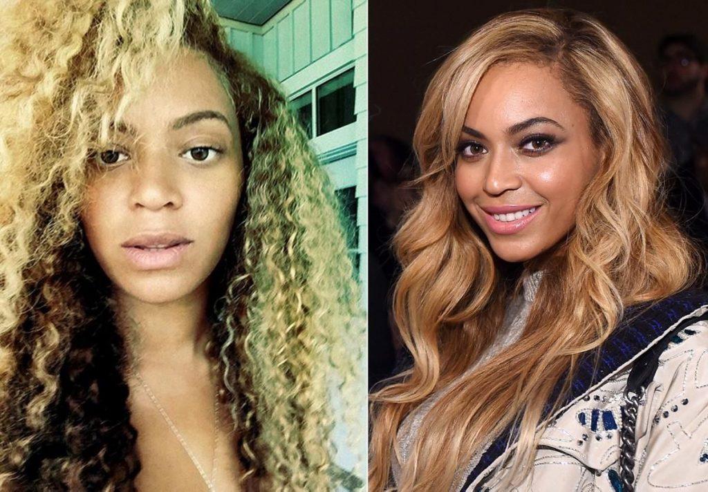 Beyonce fara machiaj
