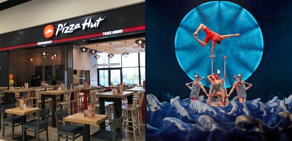 Pizza Hut și Cirque du Soleil și-au anunțat insolvența