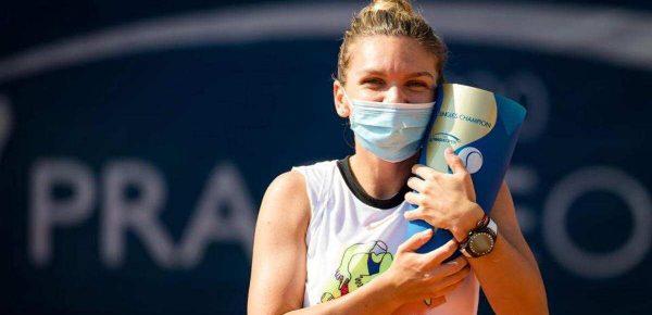 Simona Halep a sărit în râul Vltava după turneul de la Praga