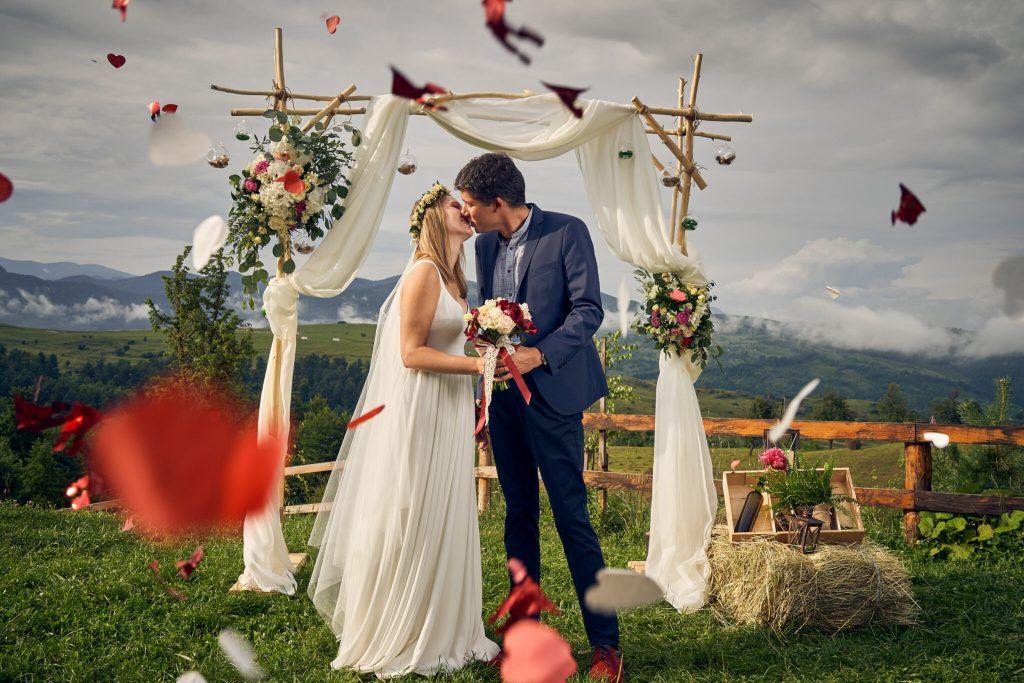 Locații de nuntă în natură