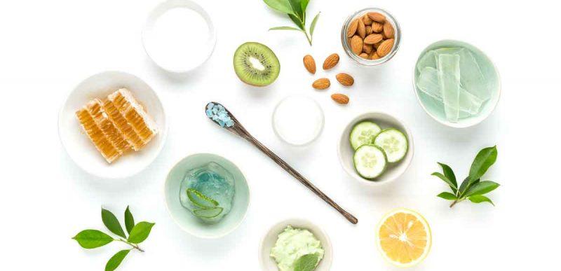 Ingrediente naturale folosite pentru înfrumusețare