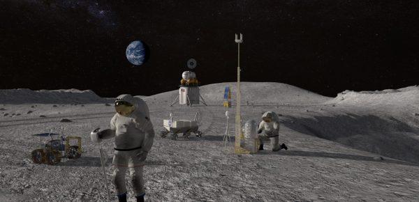 NASA și Nokia vor construi prima rețea 4G pe Lună din istorie