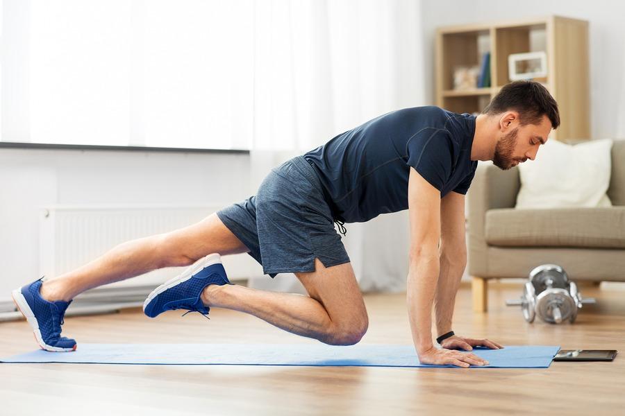 exerciții fizice acasă