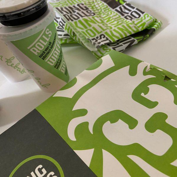 #1. Ce mâncăm azi la birou? Review: King Rolls