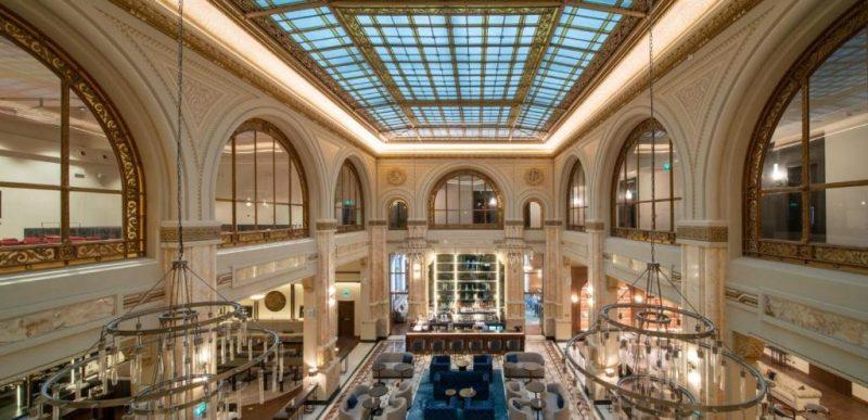 Fosta bancă Marmorosch Blank transformată în hotel de 5 stele